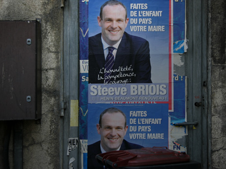 fn municipales hénin beaumont steeve briois Front national Marine Le Pen 2014